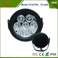 Cheap 6.2 Inch 70W LED Work Light Flood off Road SUV 4WD ATV Truck Car Super Bright LED driving light for sale