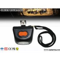 Cheap Explosion Proof LED Miners Cap Lamp With OLED Cordless 4000 Lux Brightness IP67 for sale