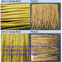 Cheap PVC Thatched Roof Tiles for sale