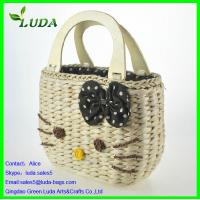 Cheap Promotional cheap corn husk straw shoulder bag for sale