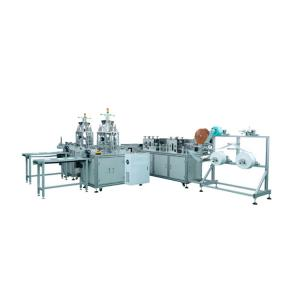 Cheap Flat Ribbon Earloop 3 Layers Face Mask Making Machine for sale