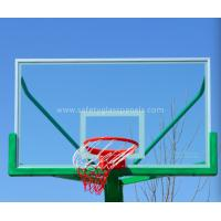 Cheap Outdoor Fully Tempered Glass Basketball Backboard With Impact Resistant for sale