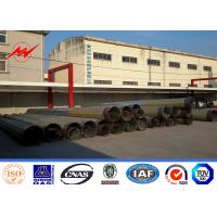 Cheap 11.8M 20KN Gr65 Material 4mm Electric Power Pole for 69KV Power Transmission for sale