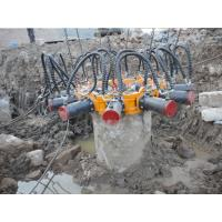 Buy cheap TYSIM KP380A Round Hydraulic Pile Breaker Construction Equipment for Concrete from wholesalers