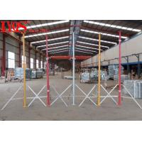 Temporary Steel Shoring Posts For Building Repair , Adjustable Acrow Props