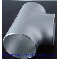 China ASTM A182  F53 UNS32750 Stainless Steel Equal Tee BW 150NB SCH80S on sale