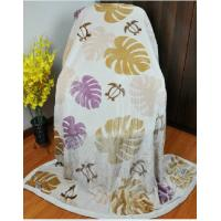 Cheap Double Printed 100% Modal Blanket For Home / Airplane 150X220CM wholesale