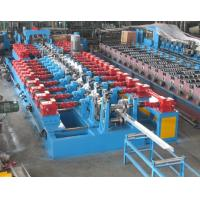 4mm Thickness Galvanized Steel C Z Purlin Roll Forming Machine with Gearbox transmission 17 steps of forming