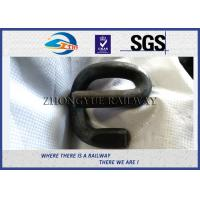 Cheap Customized Rail Fasteners Rail Clips / Railway Track Fittings / Elastic Rail Clip for sale