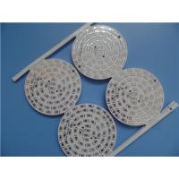 Buy cheap Single Sided Aluminum PCB With Hot Air Soldering 1 oz copper and black silkscreen from wholesalers