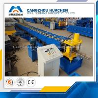 China High Performance Door Frame Roll Forming Machine PLC Control With Hydraulic Cutting on sale