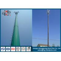 China Q345 Overlap Type Telecomminication Towers with Platform on sale