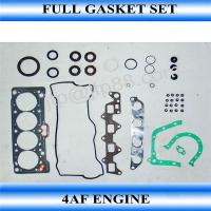 China Auto Engine Gasket Kit / Ocverhaul Full Engine Rebuild Kit 4AF For Toyota 04111-16131 on sale