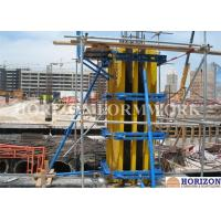 China Adjustable Wall Formwork Systems , H20 Beam Metal Formwork For Concrete Columns on sale