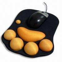 Cheap Mouse Pad, Measuring 220 x 180 x 2mm, Made of Neoprene and Cloth for sale