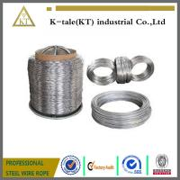 Cheap Hot dipped galvanized steel wire, ALAMBRE GALVANIZAD STEEL WIRE MANUFACTURE for sale