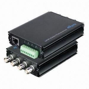Cheap 4 Channels Passive UTP Video Balun for sale