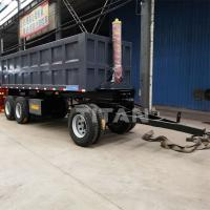 Cheap Tri axle 40 tonne dumper drawbar semi trailer for sale-TITAN Vehicle for sale