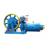 Cheap Elevator Geared Traction Machine / Lift Spare Parts High Speed 0.3 m/s for sale