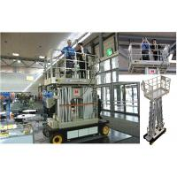 Cheap Four Mast Scissor Lift Work Platform Self Propelled 10m For Office Buildings for sale