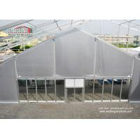 China 25m Span TFS Marquee Tent Silvery PVC Flame Retardant Roof for 1000 Person Outdoor Events on sale