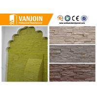 Buy cheap Exterior Soft Stone Tiles , Fireproof Outside Wall Brick Tile Anti - crack from wholesalers