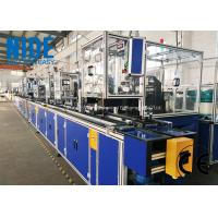 Buy cheap Full automatic  needle winding machine BLDC stator production assmebly line from wholesalers