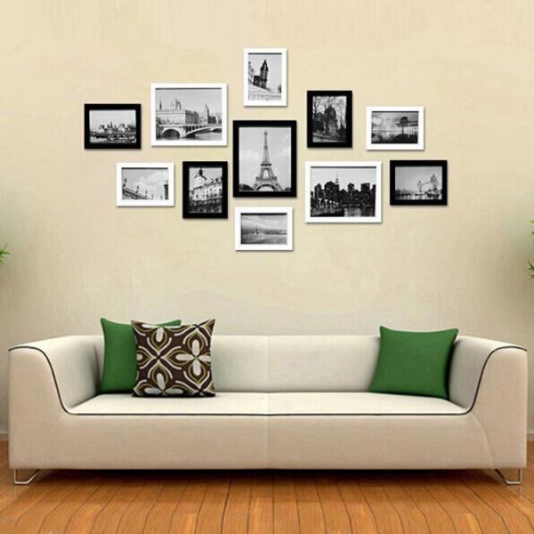 Eco friendly high quality handmade photo frame wall for Handmade wall frames ideas