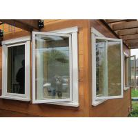 Cheap Energy Saving Thermal Break Aluminum Casement Windows with Double Glazing Glass for sale