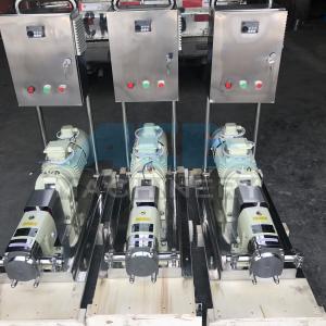 Cheap Sanitary Stainless Steel Heat Retaining Rotary Horizontal LobePump Rotary Lobe Pump for Washing Liquid for sale
