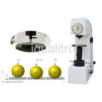 China Vertical Height 170mm Basic Manual Rockwell Hardness Testing Machine with Resolution 0.5HR on sale