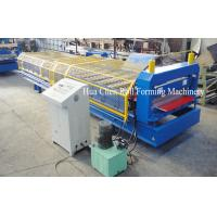 China Multi function Steel wall panel roll forming machine with special cutter on sale