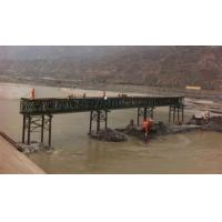 Cheap Pins Connect Temporary Military Bridges 45 Meter Span Incrementally Launched Bridge for sale