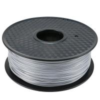 Buy cheap Silver PLA 3d Printen Plastic Weight For 3D Printing Refill 1kilometer Capacity from wholesalers