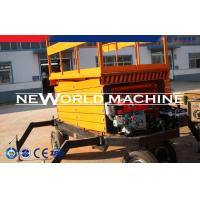 Cheap 1.1kw Powerful Hydraulic Platform Lift Customerized 200kg Loading Capacity for sale