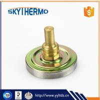 China stainless steel industrial process back bimetal thermometer on sale