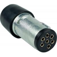 Cheap Australian Trailer Electrical Plug 7 Pin Metal 12V Electrical For Converter for sale