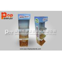 Buy cheap Food Corrugated Countertop Display Box Mountable On Other Display from Wholesalers