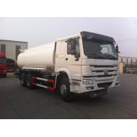 Cheap Fuel Delivery Tanker Truck WD615.47 Model Engine Type High Performance for sale