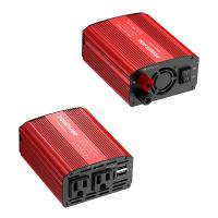 Cheap 300W Car Battery Power Inverter DC 12V to AC 110V Converter with Dual 3.1A Dual USB Ports for sale