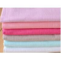 55/45  LINEN COTTON FABRIC PLAIN DYED WITH SOLID COLOUR  CWT #317