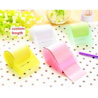 China ABS Case Tubular 10m Personalized Sticky Notes For School / Office on sale