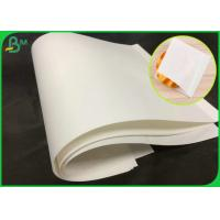 China 70GSM Natural Virgin White Kraft Paper Roll With FSC Certification on sale