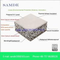 Calcium Silicate Bricks Light Reflecting : Steel structure composite wall sandwich panel for villa
