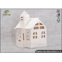 Cheap Candy / Cookie Folding Gift Boxes Special House Shaped Strictly Quality Control for sale