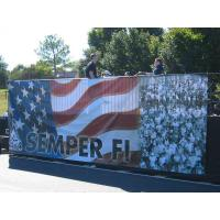China Waterproof Outdoor Banner Printing Large Format Vinyl Banner For Outdoor Advertising on sale