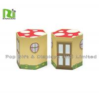 Buy cheap Customized Unique Cardboard Stool Foldable Corrugated Cardboard Furniture from wholesalers