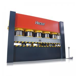 Cheap HARSLE brand YM Series Hydraulic Door Frame Embossing Machine for metal door sheet for sale