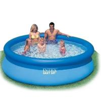 """China Intex 10'x30"""" Easy Set Above Ground Inflatable Swimming Pool with Pump on sale"""