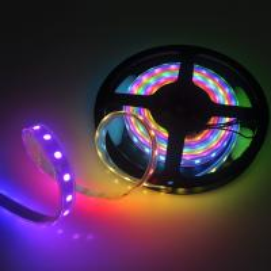 Cheap SK6812 30/60/144 LEDs/m 5050 RGB Flex led strip Light 5V Similiar as WS2812B APA104 for sale